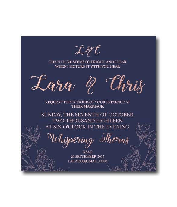 Lara Online Invitation