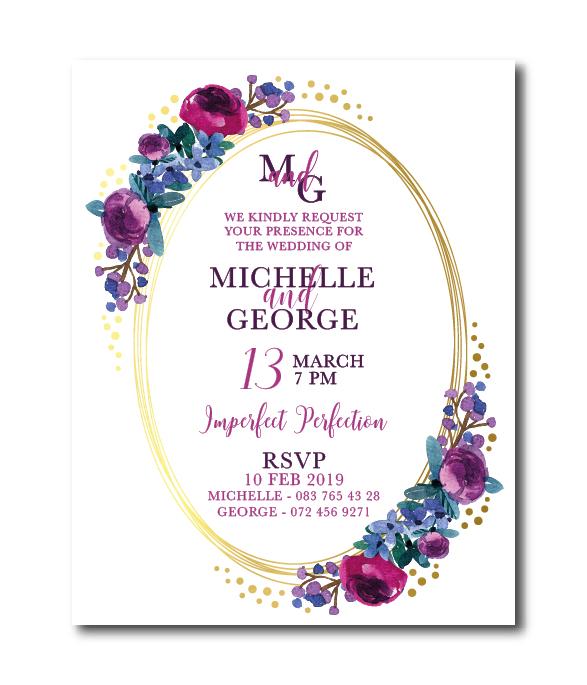 Michelle Online Invitation