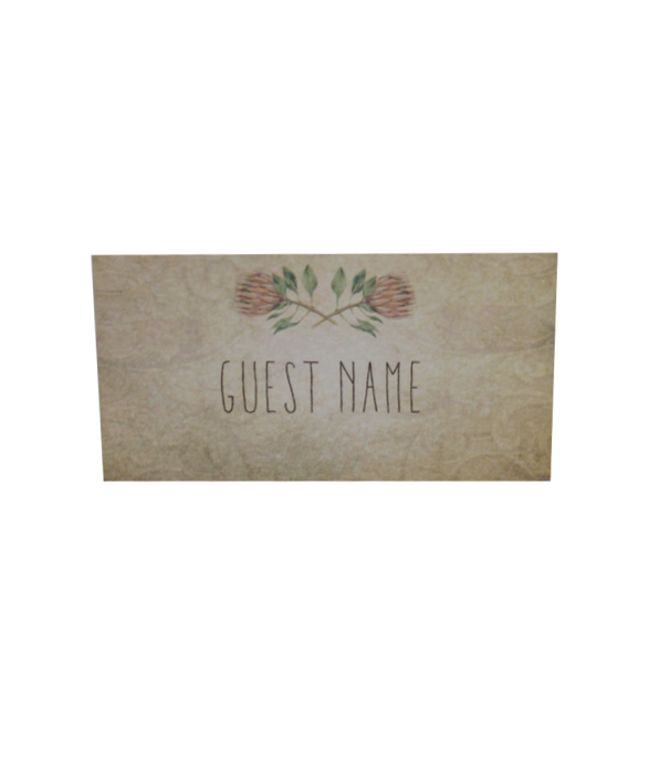 Blushing Bride Place card