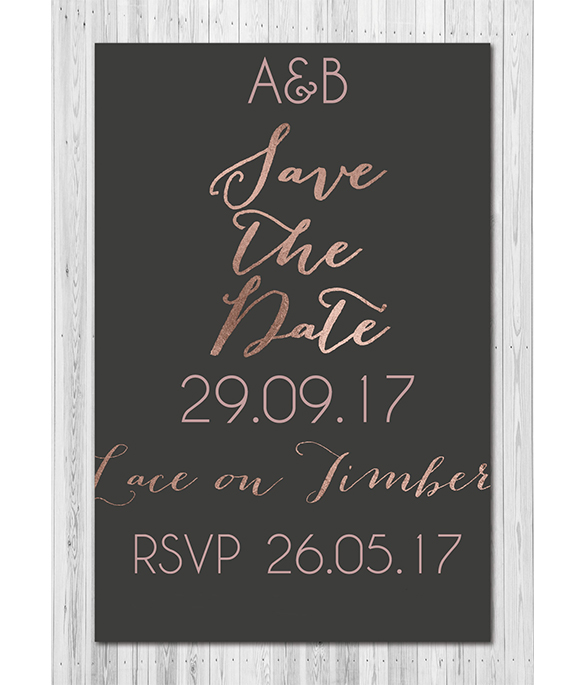 French Bow E-Save the date