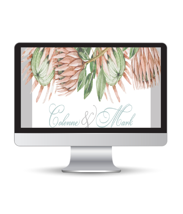 Rustic Protea website