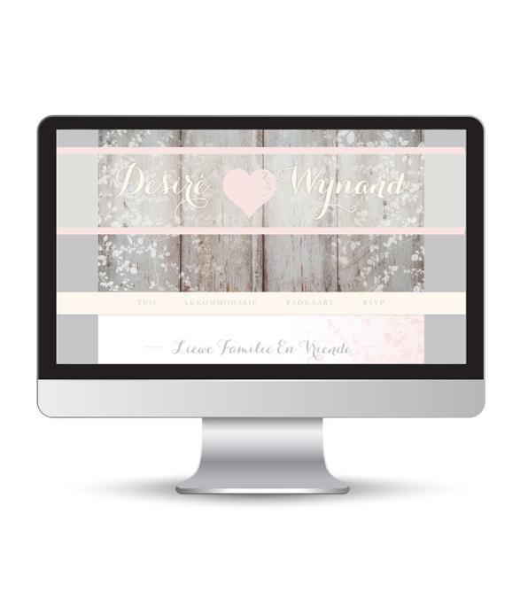 Blush Rain Website
