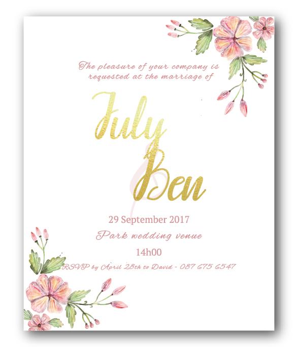 Lacey E-Invite