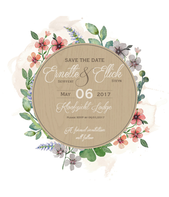 lily young floral online save the date