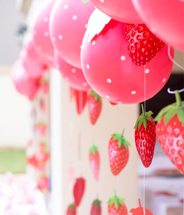 Strawberry Party Bunting
