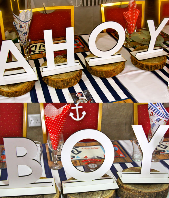 Nautical Party Wooden sign
