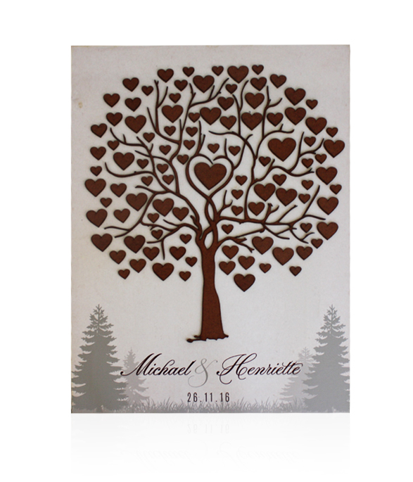 Forest Guestbook Sign