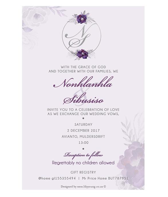 Nonhlanhla Invite