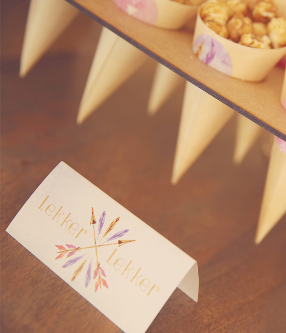 Boho Party Food signs