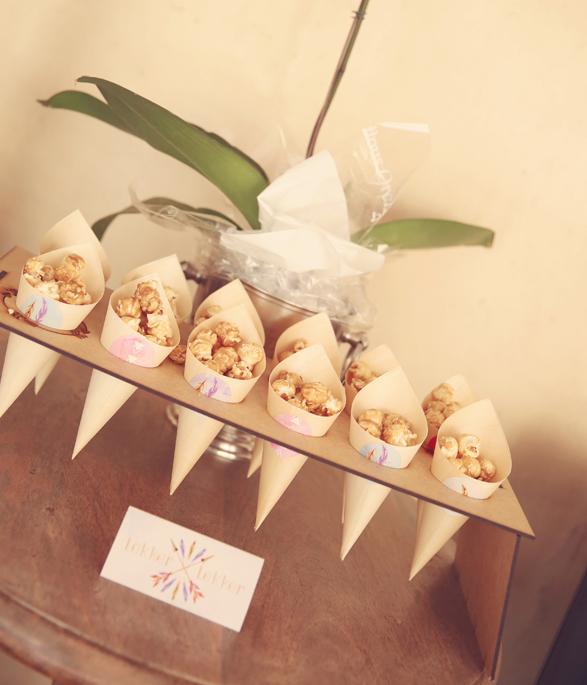 Boho Party Confetti Cones