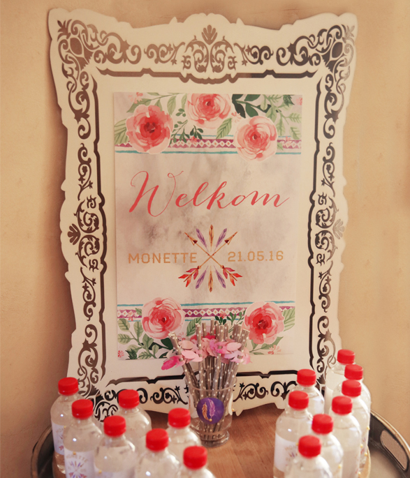 Boho Party Welcome Sign