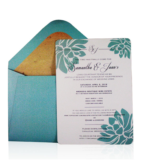 Turquoise Lily Product Image