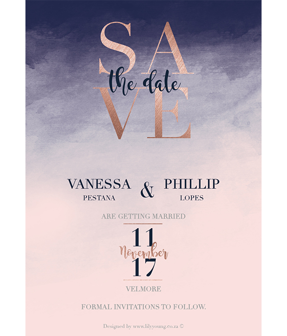 Vanessa Online Save the date